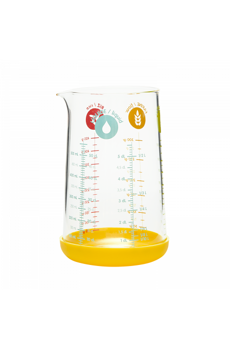 Glass Measuring Cup with...