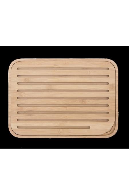 Planche à pain en bambou -...