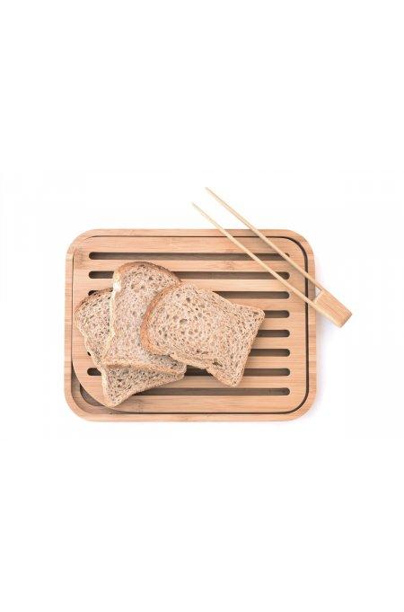 Set planche à pain et pince...