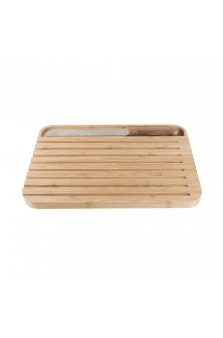 Bread board and knife set